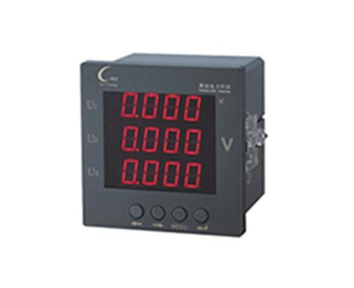 数码三相电压表